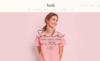 英国女士家居服网站:hush
