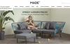 伦敦设计师家具和家居用品在线:MADE
