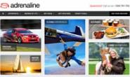 澳大利亚冒险体验:Adrenaline(跳伞、V8赛车、热气球等)