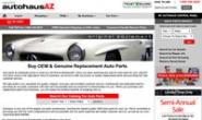 Autohaus AZ:网上购买OEM和正品替换汽车配件