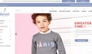 Jacadi Paris美国官方网站:法国童装品牌