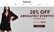 英国时尚服饰电商:Boohoo