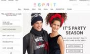 ESPRIT新加坡购物网站:选购最新流行服饰