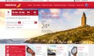 西班牙国家航空官方网站:Iberia