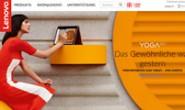 联想瑞士官方网站:Lenovo Switzerland