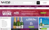 巴西葡萄酒销售网站:Wine.com.br