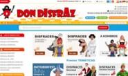 西班牙各种主题和派对服装网站:Don Disfraz