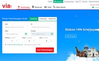 印尼旅游网站:via