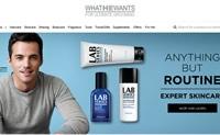 新加坡男士美容产品购物网站:WhatHeWants