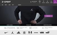 捷克体育用品购物网站:D-sport