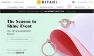 美国定制钻石订婚戒指:Ritani