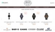 英国最好的设计师手表之家:Watch Warehouse