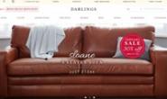 英国豪华真皮和布艺沙发销售网站:Darlings of Chelsea