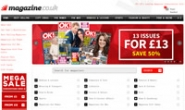 英国领先的杂志订阅网站:Magazine.co.uk