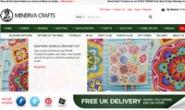 英国工艺品购物网站:Minerva Crafts