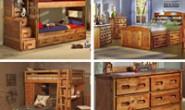 优质北美松木制成的卧室家具:Rustic Classics