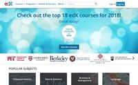 哈佛大学和麻省理工学院创建的在线课程平台:edX