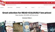在线购买廉价折扣书籍和小说:BookOutlet.com