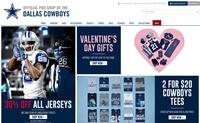 达拉斯牛仔官方商店:Dallas Cowboys Pro Shop