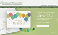 美国领先的商务贺卡出版商:The Gallery Collection