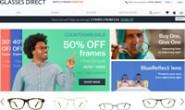 欧洲最大的在线处方眼镜店:Glasses Direct