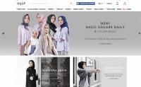 印度尼西亚穆斯林时尚商店:HIJUP