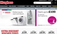 英国家用电器购物网站:Hughes