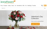 英国和世界各地鲜花速递专家:Arena Flowers