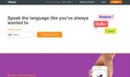 在线学习西班牙语、法语或其他语言:Babbel.com