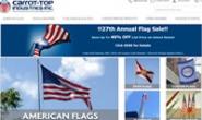 美国最大的旗帜经销商:Carrot-Top