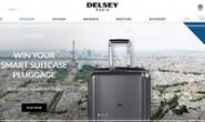 法国大使拉杆箱:DELSEY Paris