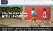 美国流行背包品牌:JanSport(杰斯伯)
