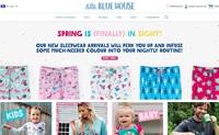 家庭睡衣和家庭用品:Little Blue House
