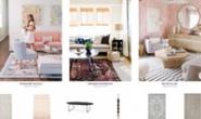 Lulu & Georgia官方网站:购买地毯、家具、抱枕、壁纸、床上用品等