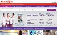 马印航空官方网站:Malindo Air