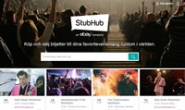 StubHub瑞典:购买或出售您的门票