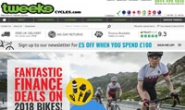 英国山地公路自行车商店:Tweeks Cycles