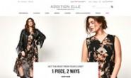 加拿大时尚潮流大码女装购物网站:Addition Elle