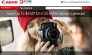 佳能加拿大网上商店:Canon eStore Canada