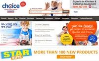 新西兰领先的酒店业专业餐饮设备和商用厨房设备供应商:Choice