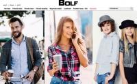 捷克原创男装和女装购物网站:Bolf.cz
