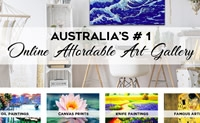 澳大利亚最大的网上油画销售画廊:Direct Art Australia