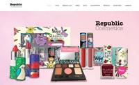 墨西哥化妆品购物网站:Republic Cosmetics