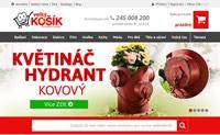 捷克家居装饰及图书音像购物网站:Velký košík