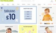 英国婴儿和儿童服装网站:Vertbaudet