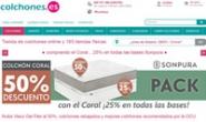 西班牙床垫网上商店:Colchones.es