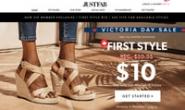 JustFab加拿大:女鞋、靴子、手袋和服装在线
