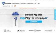 澳大利亚乳清蛋白粉和健美补品购物网站:Premium Powders