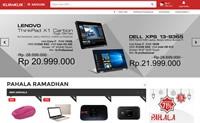 印度尼西亚电子产品购物网站:Kliknklik