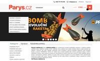 捷克钓鱼用品网上商店:Parys.cz